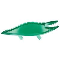 4 plats crocodile en carton