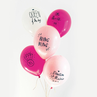 5 ballons EVJF
