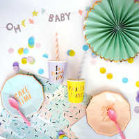 Kit baby shower pastel