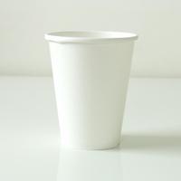8 gobelets carton blanc