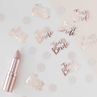 Confettis Team Bride