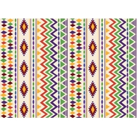 8 sets de table papier anniversaire indien