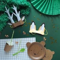 Kit anniversaire animaux de la forêt