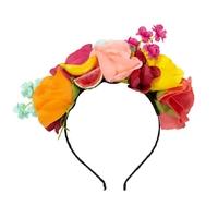 Serre-tête fleurs tropicales