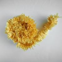 Guirlande à franges jaune