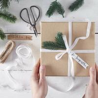 Kit emballage cadeau sapin