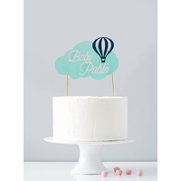 Cake topper personnalisé baby shower