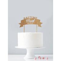 Cake topper personnalisé baptême