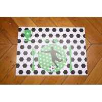 8 sets de table papier anniversaire Football
