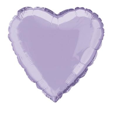 ballon-mylar-coeur-mauve