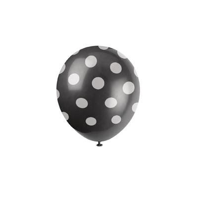 ballon-noir-pois