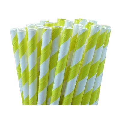pailles-retro-papier-rayures-jaune