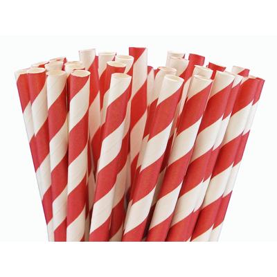 pailles-retro-papier-rayures-rouge