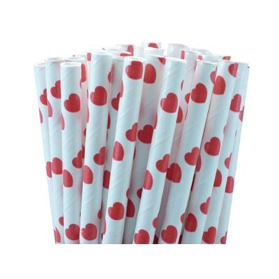 pailles-papier-coeurs-rouge