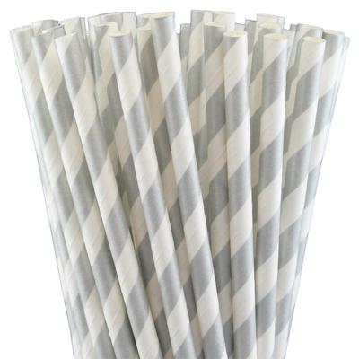 pailles-retro-papier-rayures-argent