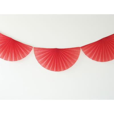 guirlande-en-papier-rosace-rouge