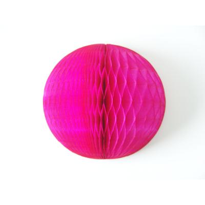 boule-de-papier-rose-fuchsia