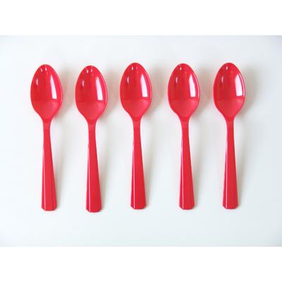 cuillere-plastique-rouge