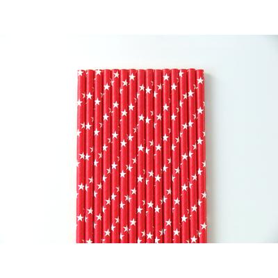 paille-papier-rouge-etoiles