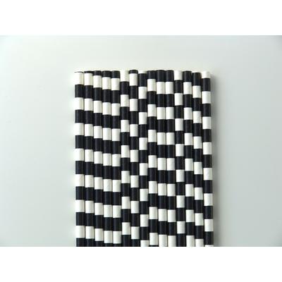 paille-papier-rayure-noir