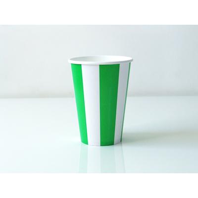 verre-carton-raye-vert
