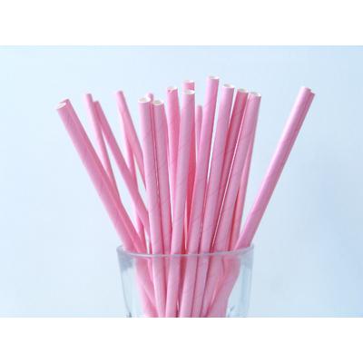paille-papier-uni-rose-clair