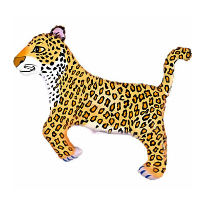 ballon-mylar-leopard