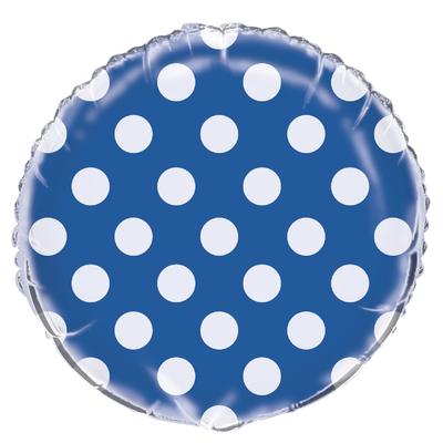 ballon-mylar-bleu-fonce-a-pois