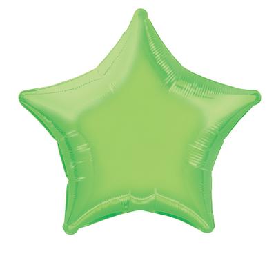 ballon-mylar-etoile-vert