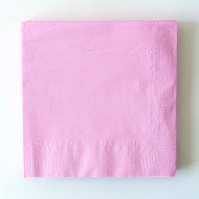 serviette-jetable-rose-clair