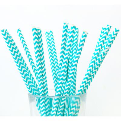 paille-chevron-en-papier-bleu-tiffany