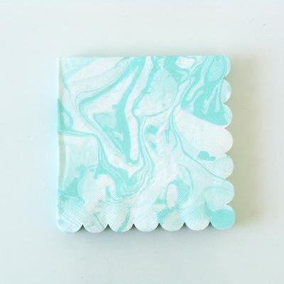 serviette-papier-marbre-mint