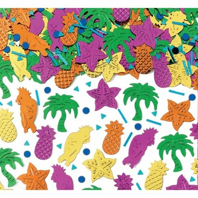 confetti-de-table-tropical
