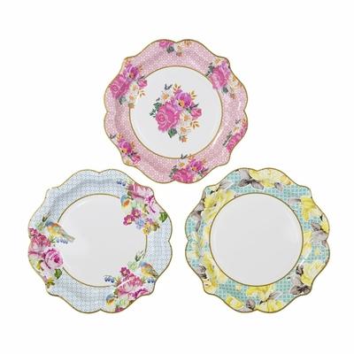 assiette-carton-style-porcelaine-ancienne