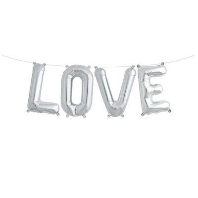 ballon-lettre-love-aluminium-argent