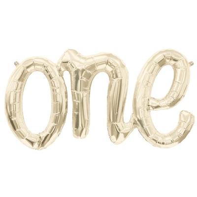ballon-one-lettre-dore