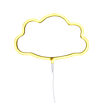 n on nuage jaune d coration lumineuse chambre enfant achat vente. Black Bedroom Furniture Sets. Home Design Ideas