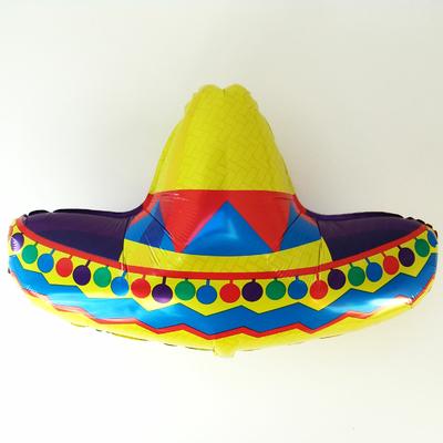 ballon-mylar-sombrero-chapeau-mexicain