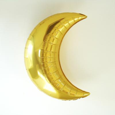 ballon-mylar-lune-doree