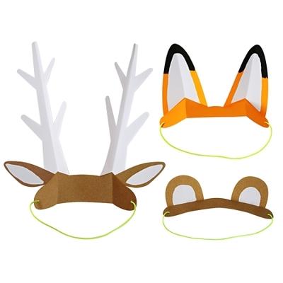 chapeau-de-fete-en-papier-animaux-foret-accessoire-deguisement-anniversaire-enfant-meri-meri