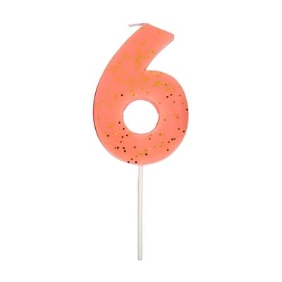 bougie-anniversaire-chiffre-6-ans-rose-fluo-meri-meri