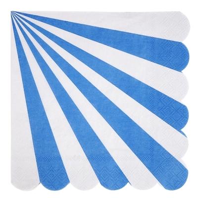 serviette-rayure-bleu-meri-meri