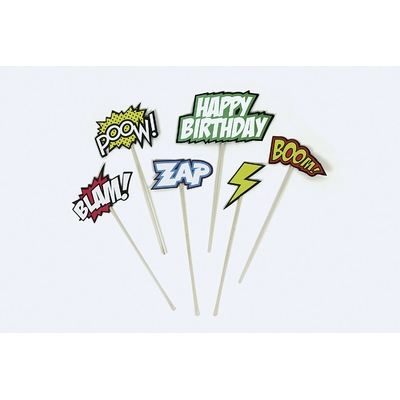 decoration-gateau-anniversaire-super-heros-comics