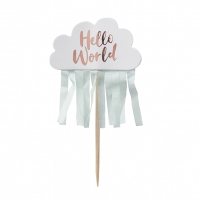cake-toppers-nuage-baby-shower-hello-world-ginger-ray