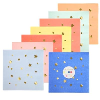 serviette-jetable-papier-multicolore-etoiles-dorees-meri-meri