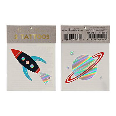 tatouage-enfant-planete-fusee-meri-meri