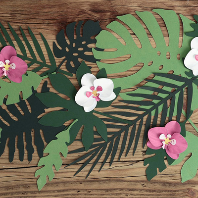 feuille-tropicale-palmier-decoration-papier-fete-hawai