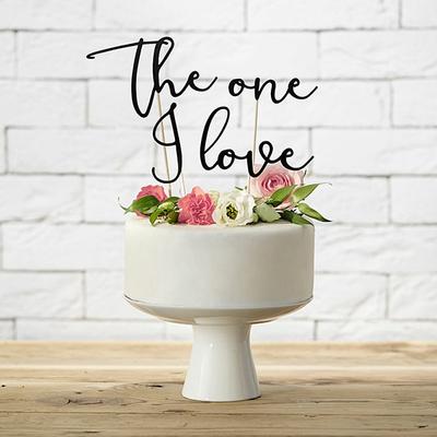 cake-topper-the-one-i-love-pic-decoratif-wedding-cake