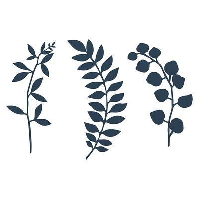decoration-papier-feuillage-bleu-marine-predecoupe-table-mariage