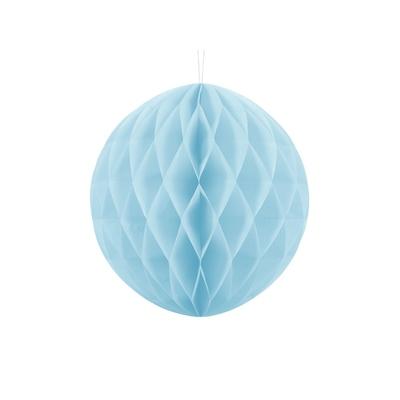 boule-papier-alveole-bleu-clair-30-cm